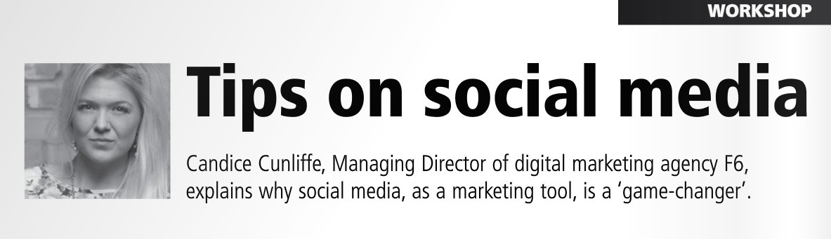 Comms Dealer October 2014 – 'Tips on Social Media' by Candice Cunliffe