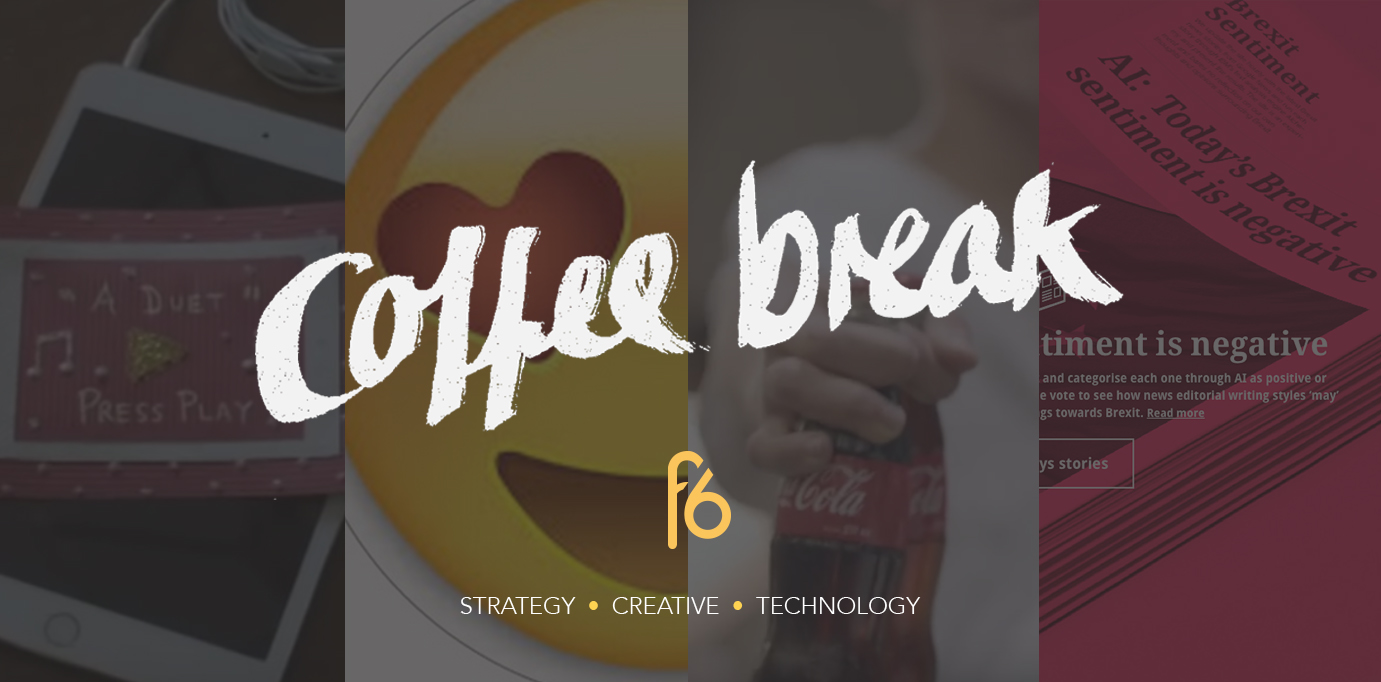 Coffee break 08-07-16