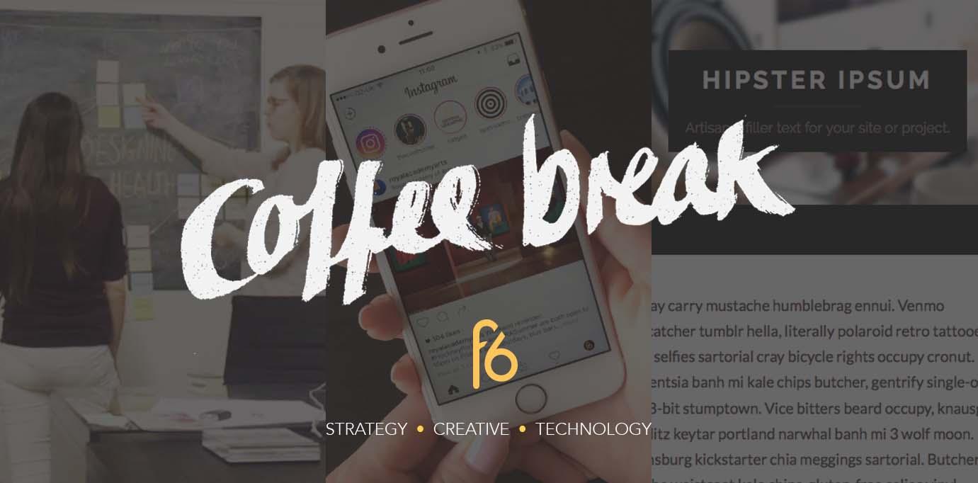 Coffee break 05-08-16