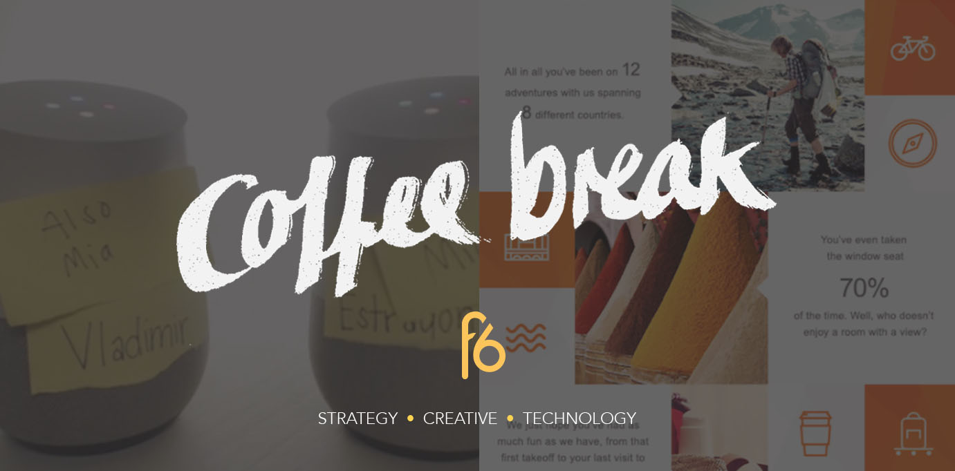 Using customer data for personalisation and how AI can protect your brand: Coffee Break 13-01-17